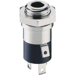 Jack-stik 3,5 mm Lumberg 1502 02 Poltal 4 Stereo Sølv 1 stk