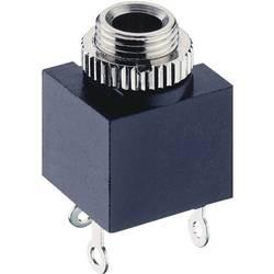 Jack-stik 3,5 mm Lumberg 1502 03 Poltal 2 Mono Sort 1 stk
