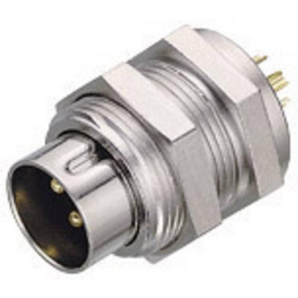 Subminiaturni okrogli konektorserije 711 711 Binder 09-0077-00-03