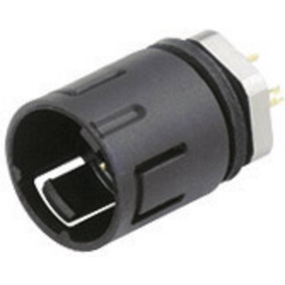Mini okrogli konektor Binder serije 620, 99-9207-00-03, nazivni tok: 3 A, poli: 3, 1 kos