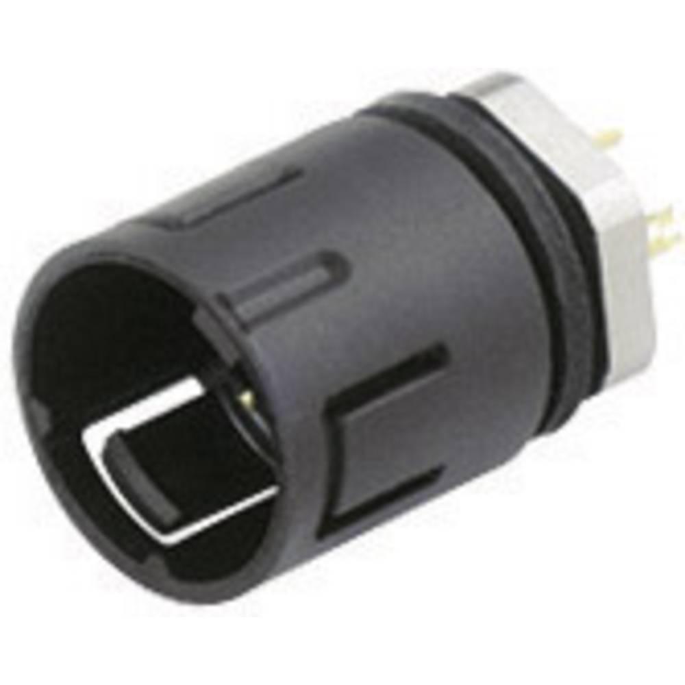 Mini okrogli konektor Binder serije 620, 99-9211-00-04, nazivni tok: 2,5 A, poli: 4, 1 kos
