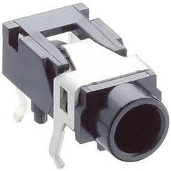 Jack-stik 3,5 mm Lumberg 1503 07 Poltal 3 Stereo Sort 1 stk