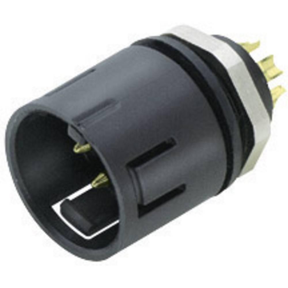 Mini okrogli konektor Binder serije 720, 99-9127-00-08, nazivni tok: 2 A, poli: 8, 1 kos