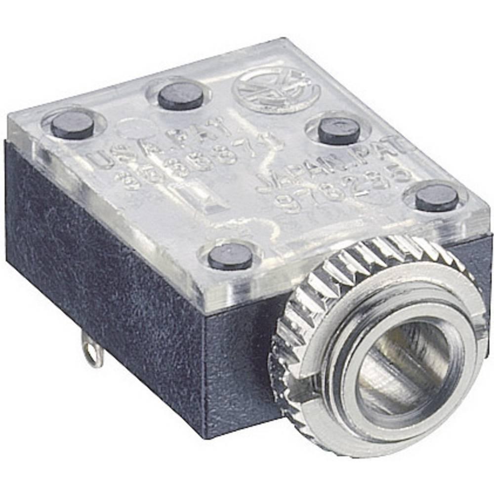 Vgradni banana konektor, 3,5 mm montaža na hrbtni strani število polov: 3/stereo 1503 09 Lumberg
