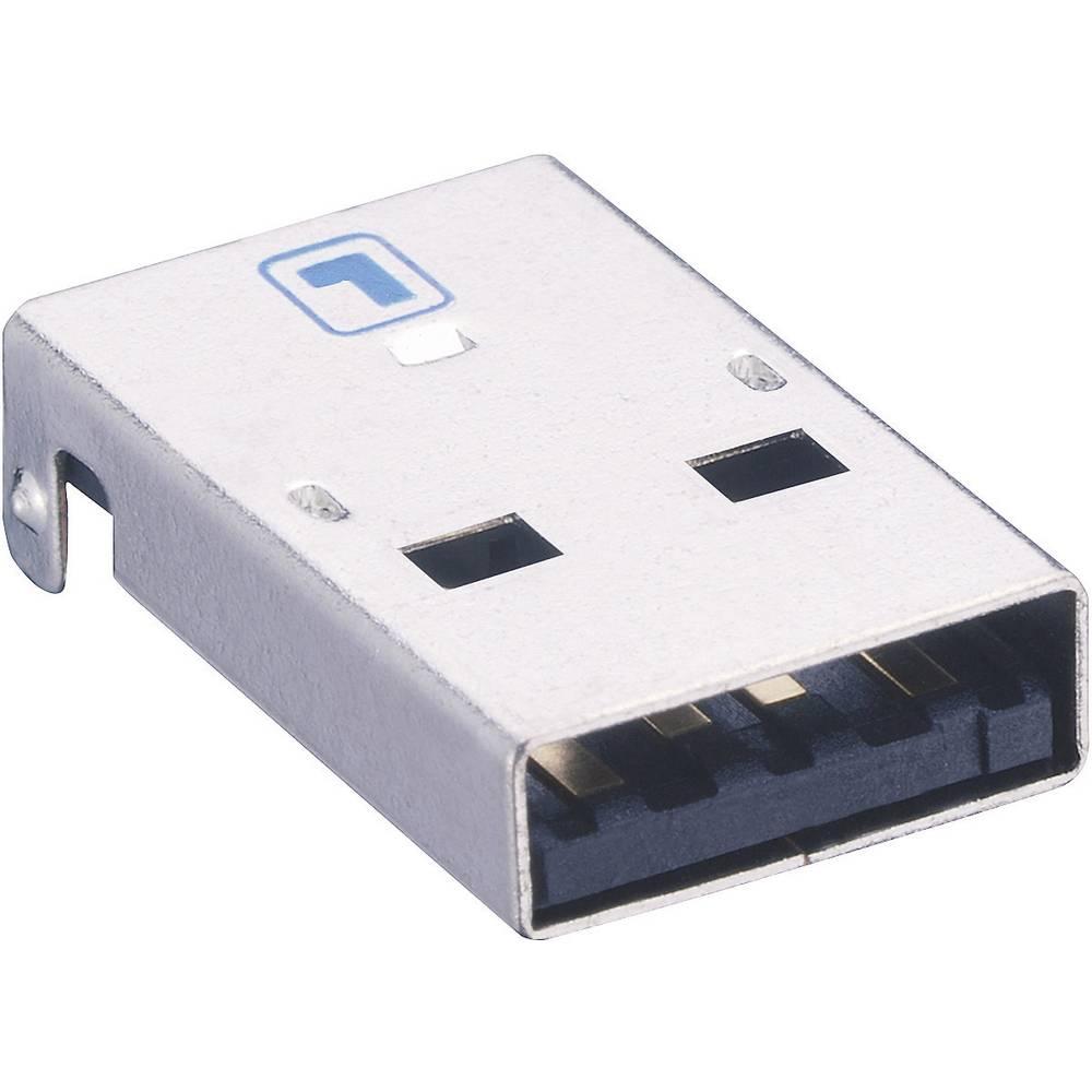 Konektor USB 2.0 2410 07 Lumberg