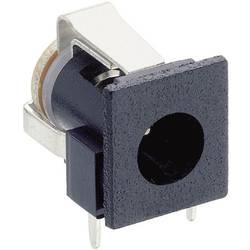 Lavspændingsstik Tilslutning, indbygning vandret 6.6 mm 1.9 mm Lumberg NEB 1 R 1 stk