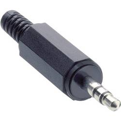 Jack-stik 3,5 mm Lumberg KLS 40 Poltal 3 Stereo Sort 1 stk
