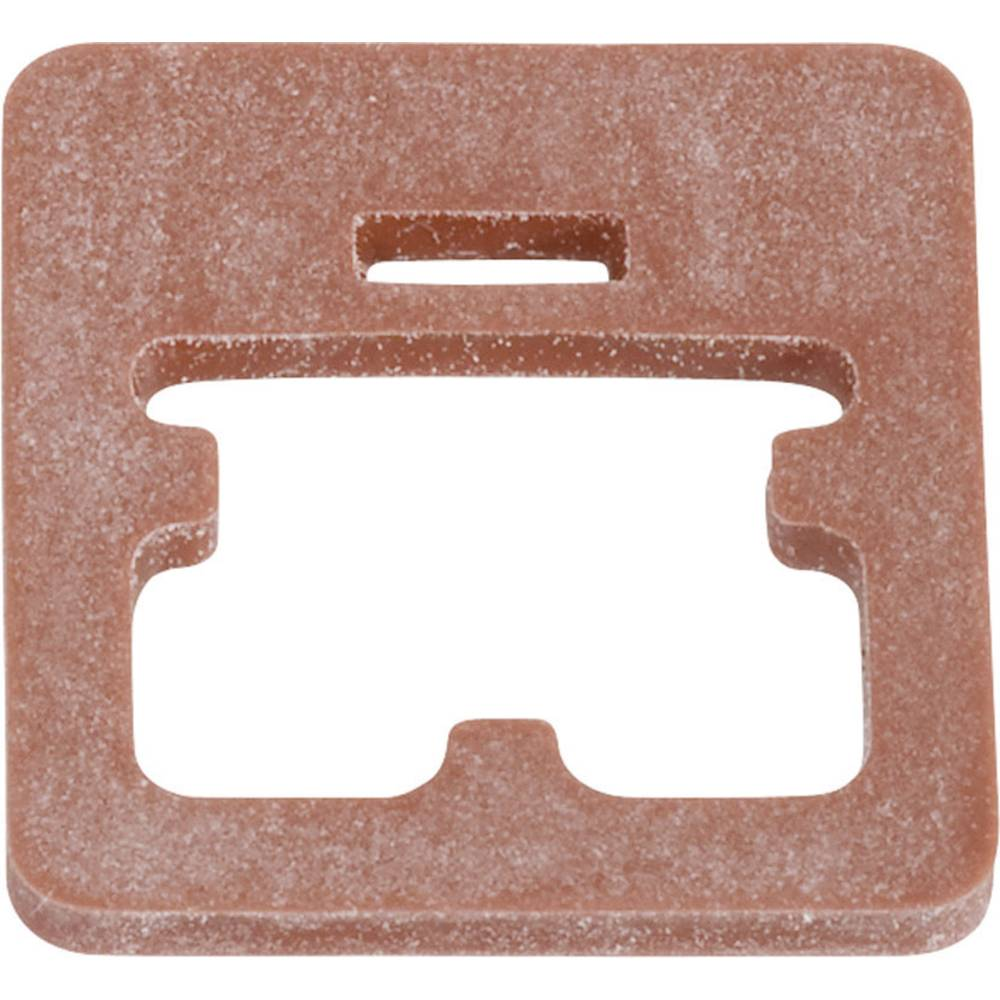 Pakning til magnetventil stik byggeri type C Series 235 Binder 16-8107-001 Rød 1 stk