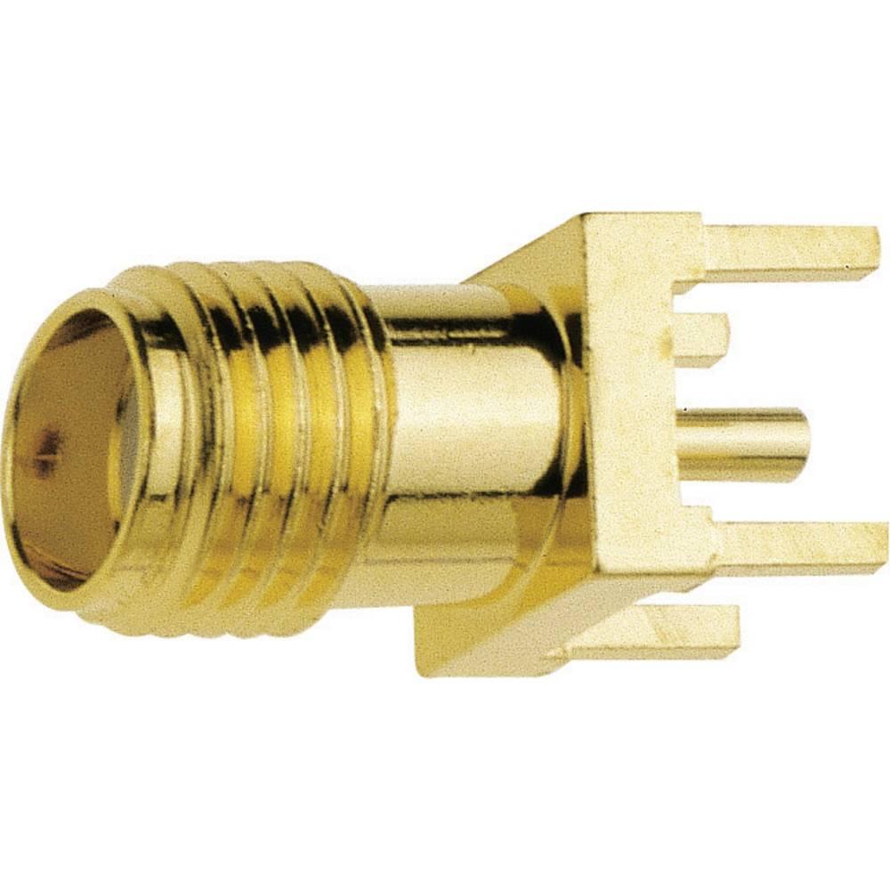 SMA ženski konektor IMS 1115.42.2510.001, raven, pozlačena medenina, za tiskano vezje