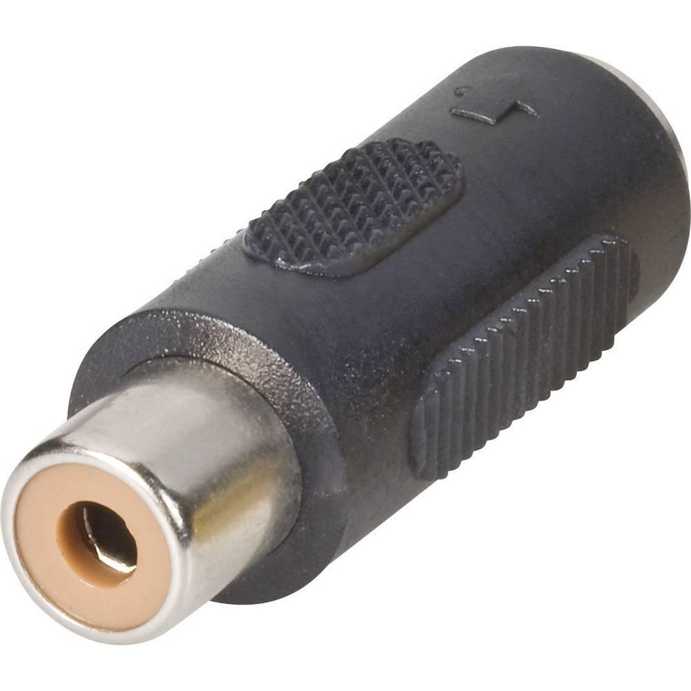 BKL Electronic 0204500-Činč adapter, činč ženski/mini DIN ženski, 1 kos
