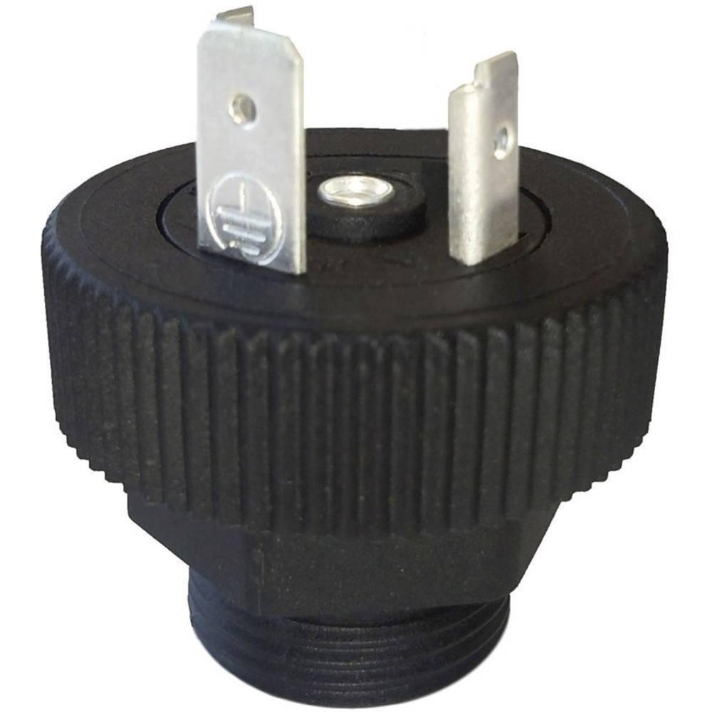 Ventil plug BGRN HTP BGRN02000-PG13,5 Sort 1 stk