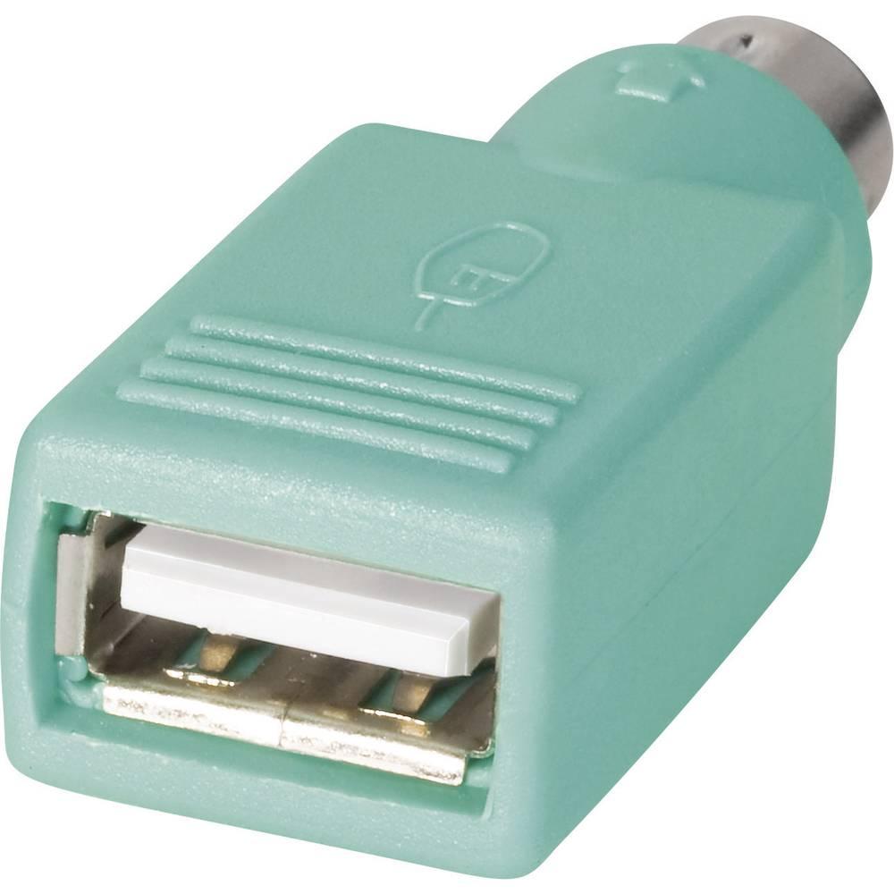 USB-adapter 10120278 USB-vtičnica , tipa A na Mini-DIN-sponi BKL Electronic vsebuje: 1 kos