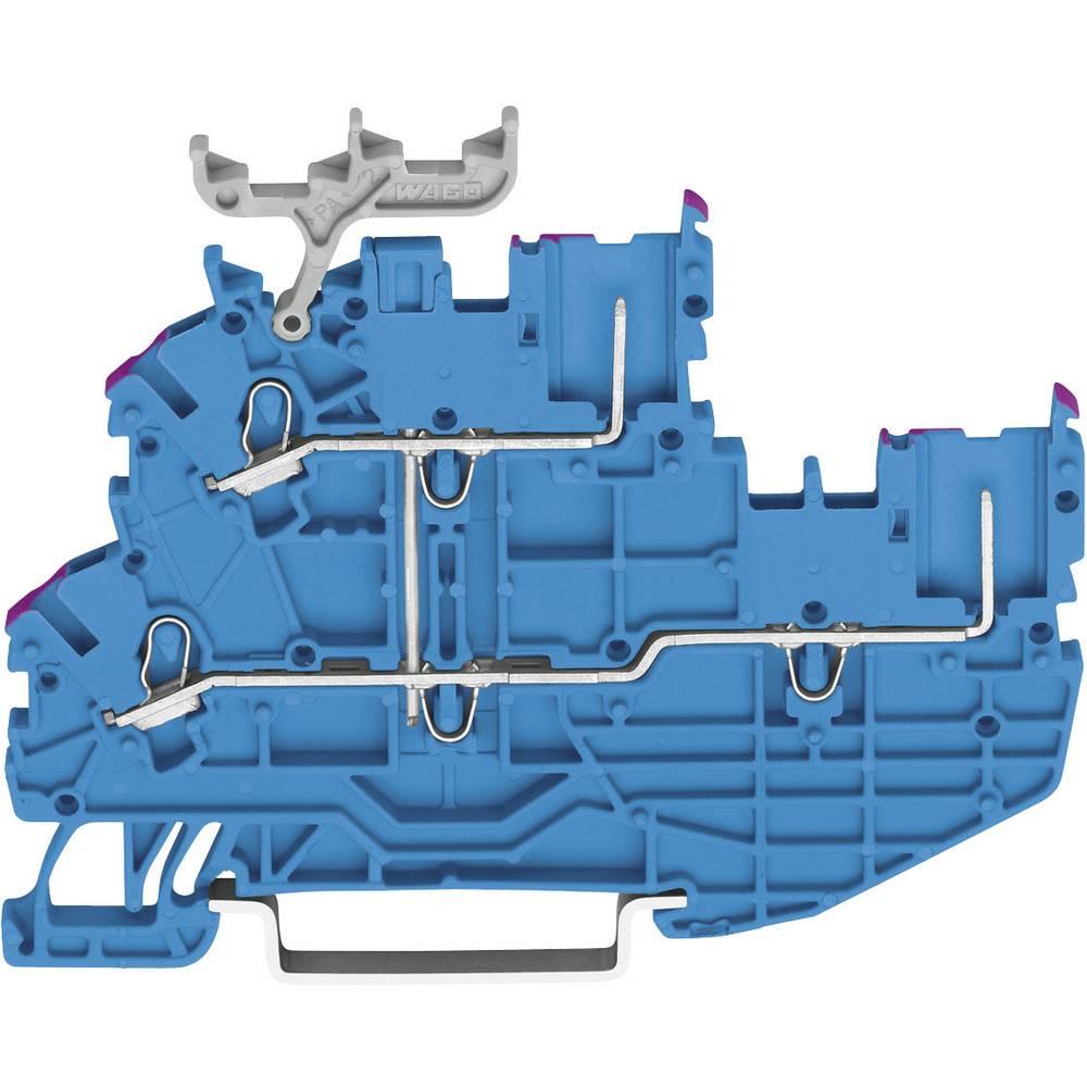 Basisklemme 3.50 mm Trækfjeder Belægning: N Grå WAGO 2020-2239 1 stk