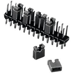 Kortslutningsbro Rastermål: 2.54 mm Poltal hver række:2 TRU COMPONENTS TC-03305-201-10-00 Indhold: 1 stk