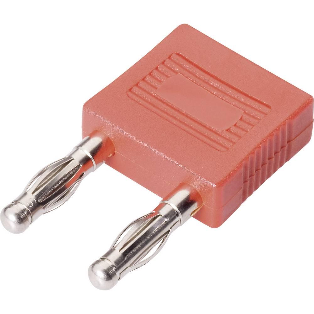 Forbindelsesstik Schnepp FK 14/4mB - NI Stift-diameter: 4 mm 14 mm Rød 1 stk