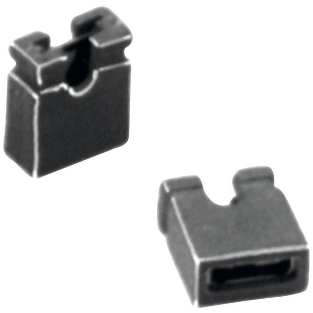 Kortslutningsbro Rastermål: 2 mm Poltal hver række:2 W & P Products 351-201-20-00 Indhold: 1 stk