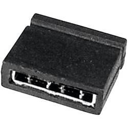 Kortslutningsbro Rastermål: 2.54 mm, 5.08 mm Poltal hver række:2 TRU COMPONENTS TC-05305-101-10-00 Indhold: 1 stk