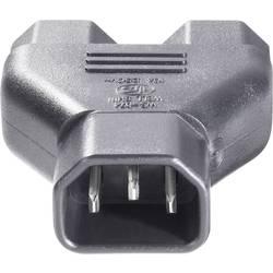 IEC-adapter BKL Electronic 073331 Sort 1 stk