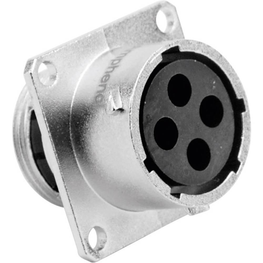 Ženski konektor za naprave Amphenol Tuchel RT0014-4SNH, nazivni tok: 23 A/13 A, poli: 4