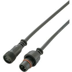 Vodootporna utična spojnica s kabelom br. polova: 2 utikač i utičnica s 100 cm kabela na oba kraja 5 A 1168962 1 kom.