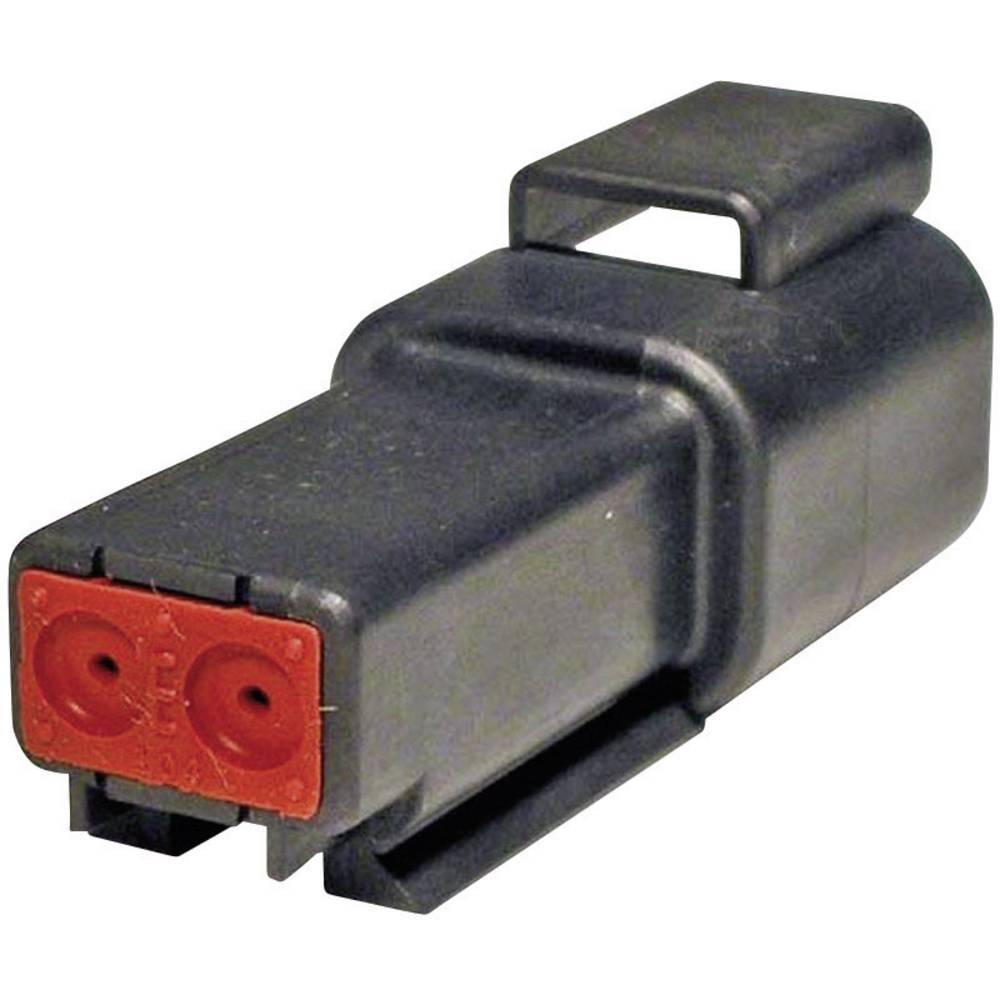 Konektor Deutsch serije DT, DT 04-2P-CE02, nazivni tok: 13 A, poli: 2, vsebina: 1 kos