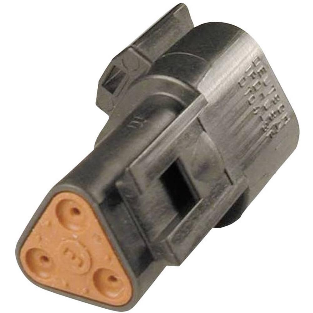 Konektor Deutsch serije DT, DT 04-3P-CE02, nazivni tok: 13 A, poli: 3, vsebina: 1 kos