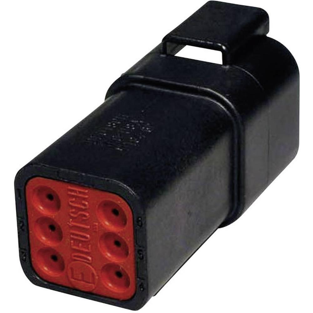 Konektor Deutsch serije DT, DT 04-6 P-CE02, nazivni tok: 13A, poli: 6, vsebina: 1 kos