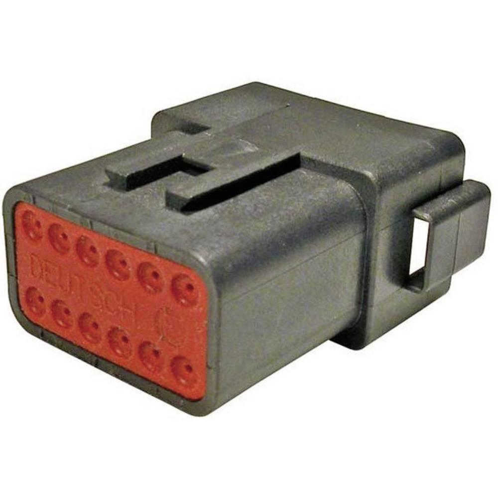 Konektor Deutsch serije DT, DT 04-12 PA-CE02, nazivni tok: 13 A, poli: 12, vsebina: 1 kos