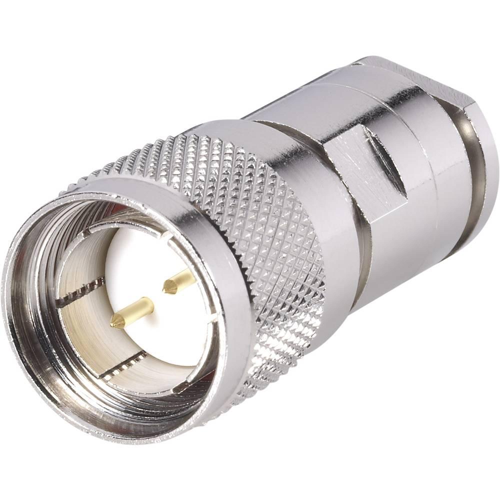 Twinax-stikforbindelse BKL Electronic 0416001 105 Ohm Stik, lige 1 stk