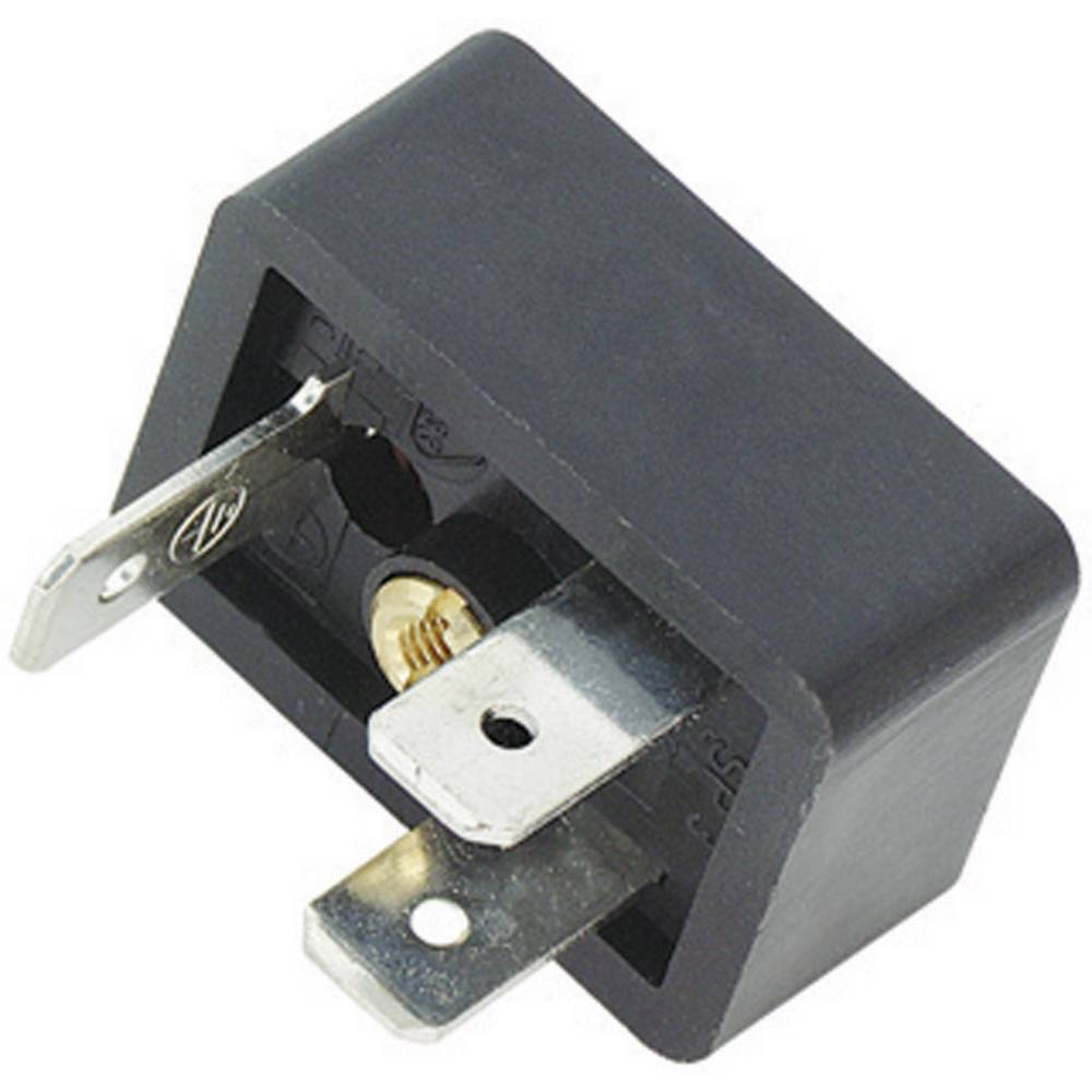 Magnetventil stik byggeri type B Series 225 Binder 43-1831-000-03 Sort 1 stk