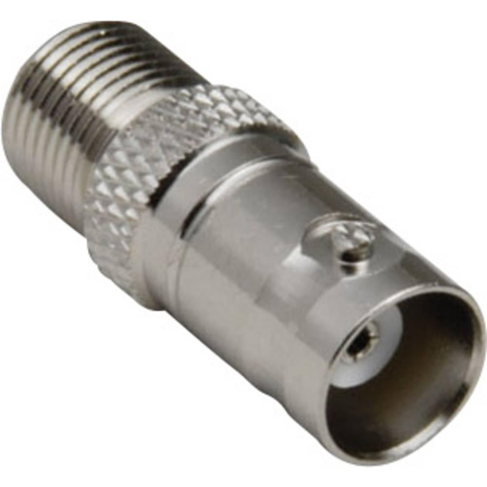 BNC-adapter BNC-tilslutning - F-tilslutning BKL Electronic 0401157 1 stk