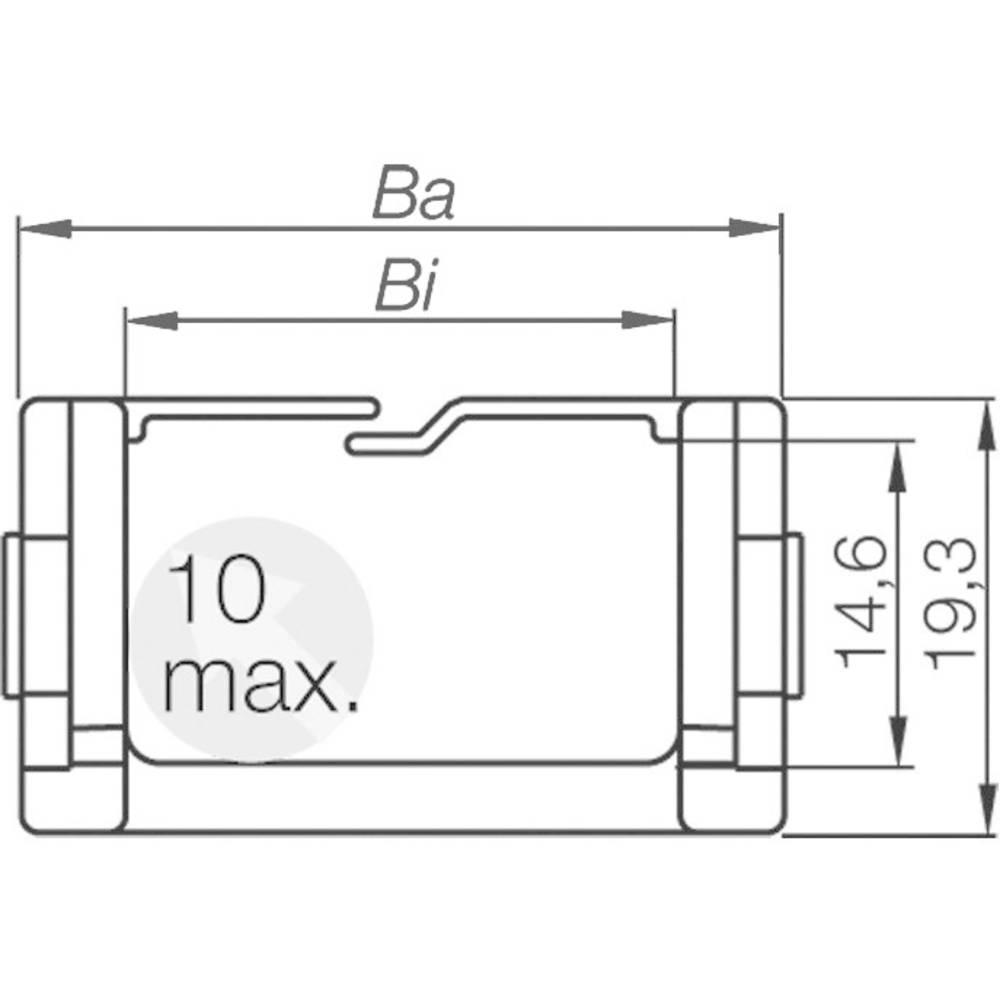 Energetska veriga, priključni element Easy Chain® serija 080.40.12PZ igus vsebina: 1 kos