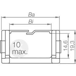 Energetska veriga, priključni element Easy Chain® serija 080.30.12PZ igus vsebina: 1 kos
