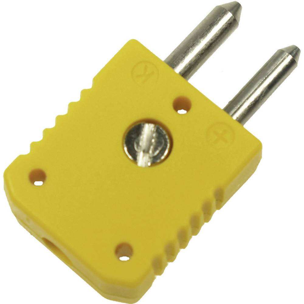 Standardni konektor za termoelement B & B Thermotechnik 0220 0004, 1 mm2, rumen, 1 kos
