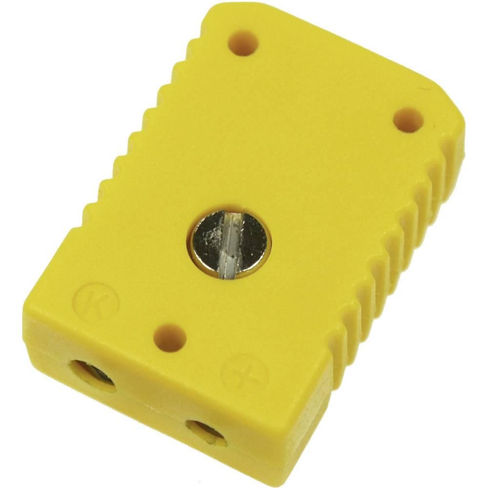 Standardni konektor za termoelement B & B Thermotechnik 0220 0003, 1 mm2, rumen, 1 kos