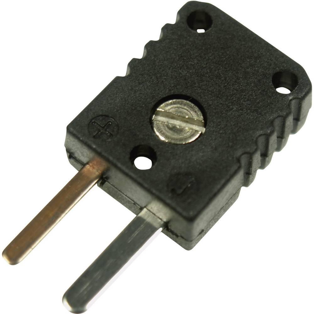 Miniaturni konektor za termoelement 0.5 mm 0220 0006 črna B+B Thermo-Technik vsebina: 1 kos