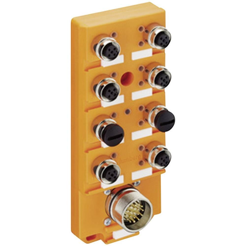 Sensor/aktorbox passiv M12-fordeler med metalgevind ASBSV 8/LED 5 11138 Lumberg Automation 1 stk