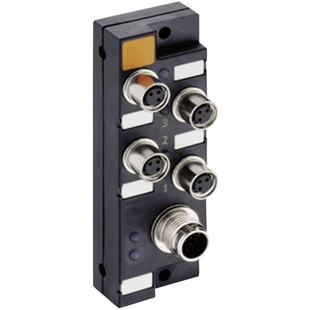 Sensor/aktorbox passiv M8-fordeler med metalgevind ASBSM 4/LED 3 65305 Lumberg Automation 1 stk