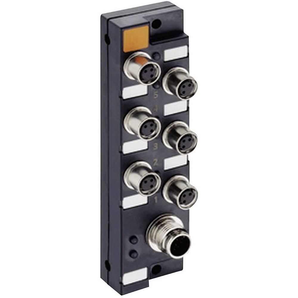 Sensor/aktorbox passiv M8-fordeler med metalgevind ASBSM 6/LED 3 65346 Lumberg Automation 1 stk