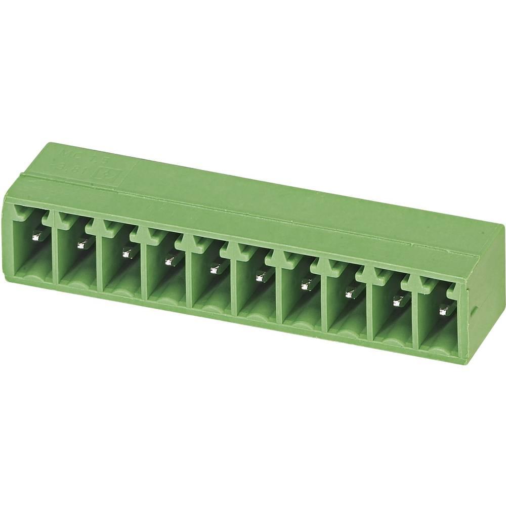 Pinsko ohišje za tiskano vezje MC Phoenix Contact 1803332 raster: 3.81 mm 1 kos