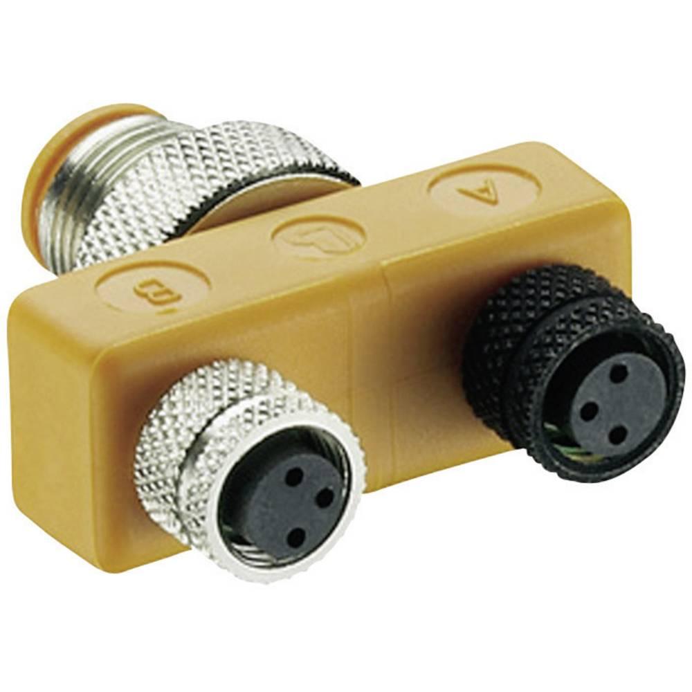 ASBS T-razdelilnik ASBS 2 M8 Lumberg Automation vsebuje: 1 kos