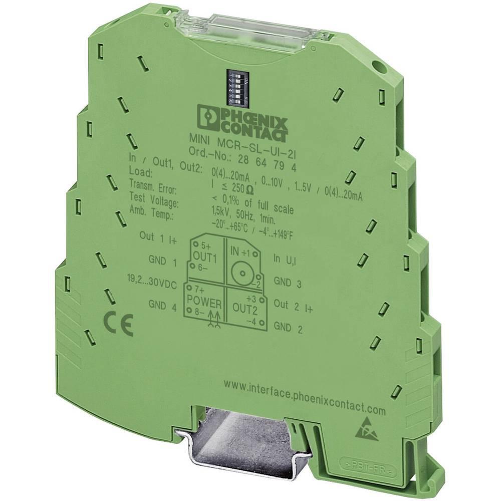 Podesivi replikator signala Phoenix Contact MINI MCR-SL-UI-2I-NC 2864176 1 kom.