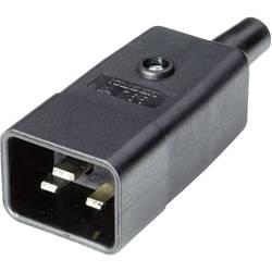 IEC-kontakt 765 Series (Nätanslutning) 765 Kontakt hane rak Antal poler: 2 + PE 16 A Svart Kaiser 765/sw/C 1 st