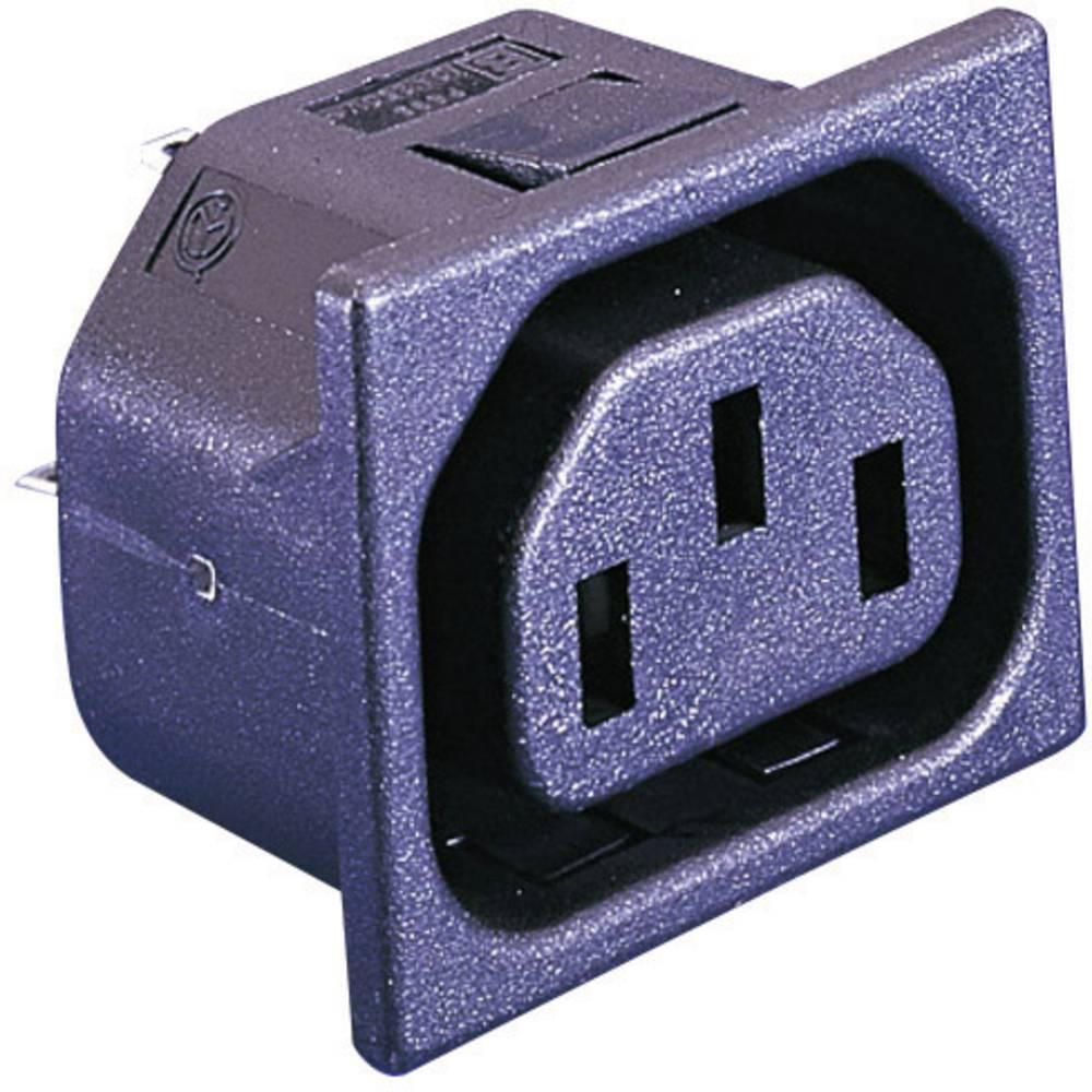 Priključek za hladne naprave PX serija (napajalni priključek) PX vgradna vtičnica, pokončna namestitev, skupno št. polov: 2 + PE