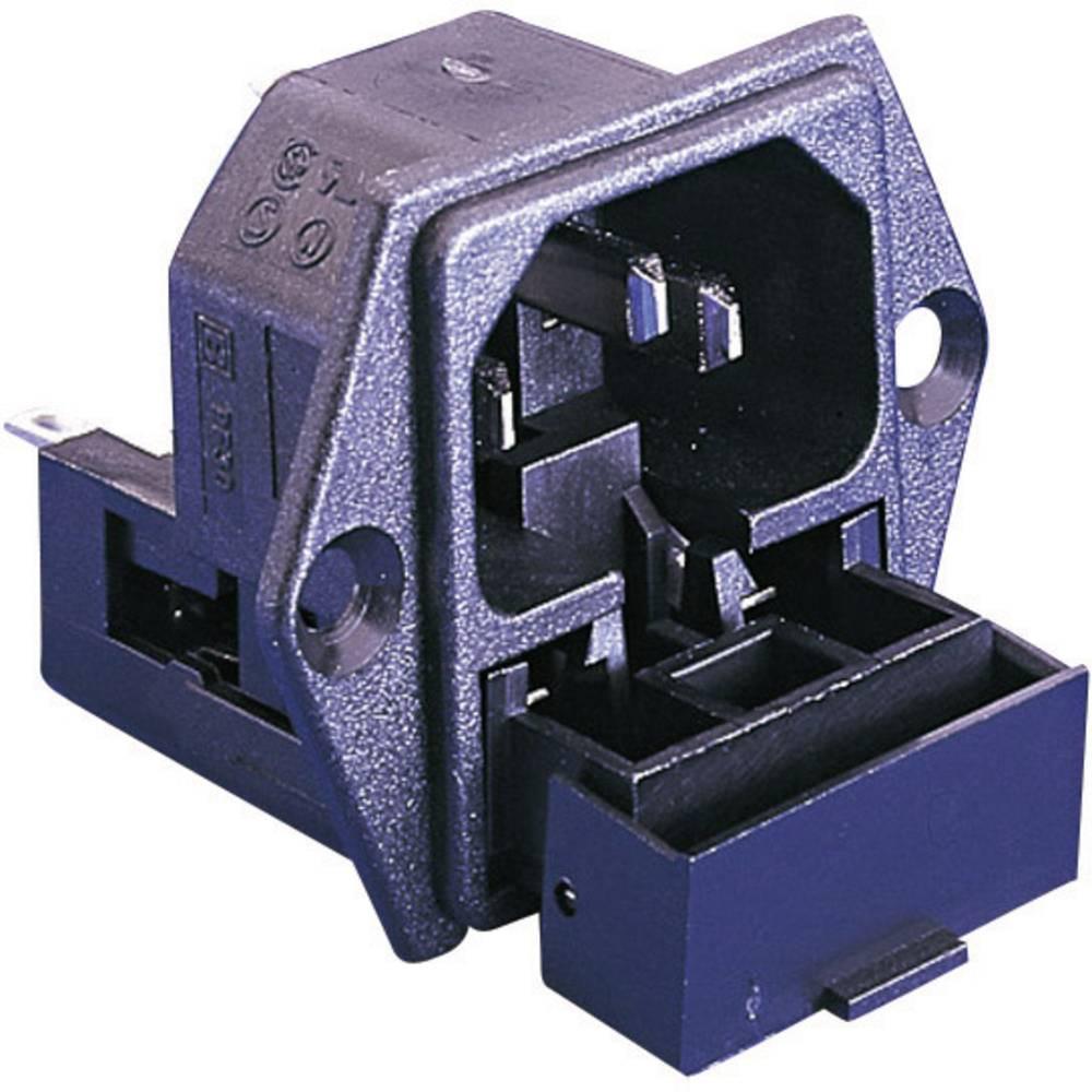 Utični konektor za hladne uređaje PF serija (priključak za napajanje) PF ugradbeni utikač, vertikalna ugradnja, ukupan broj polo