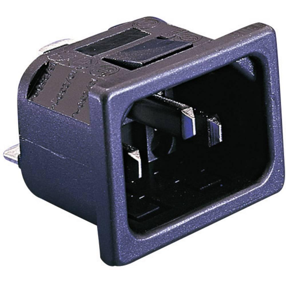 IEC-stik PX Serie (netstik) PX Stik, indbygning lodret Samlet poltal: 2 + PE 10 A Sort Bulgin PX0575/15/28 1 stk