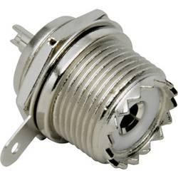 UHF-stikforbindelse BKL Electronic 0406024/D 50 Ohm Tilslutning, indbygning lodret 1 stk