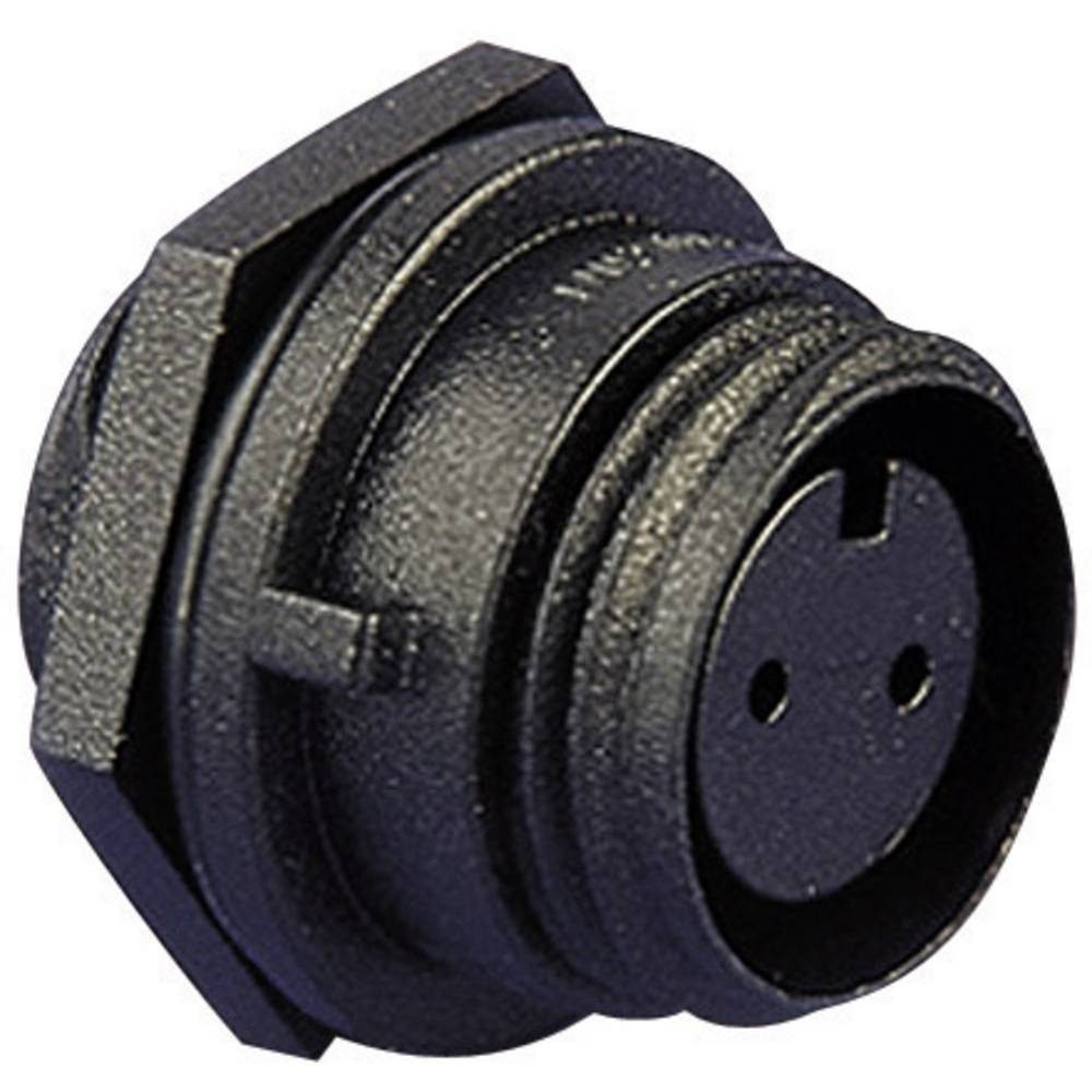 Konektor za kabel ESKA BulginPX0412/10S, montaža na prednjoploščo, 1 A, poli: 10