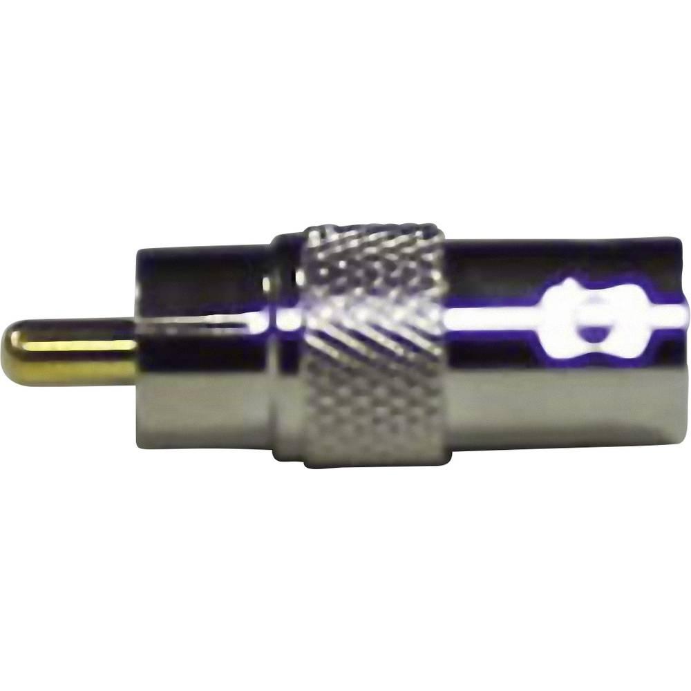 BNC-adapter BNC-vtičnica - cinch-vtič 1 kos