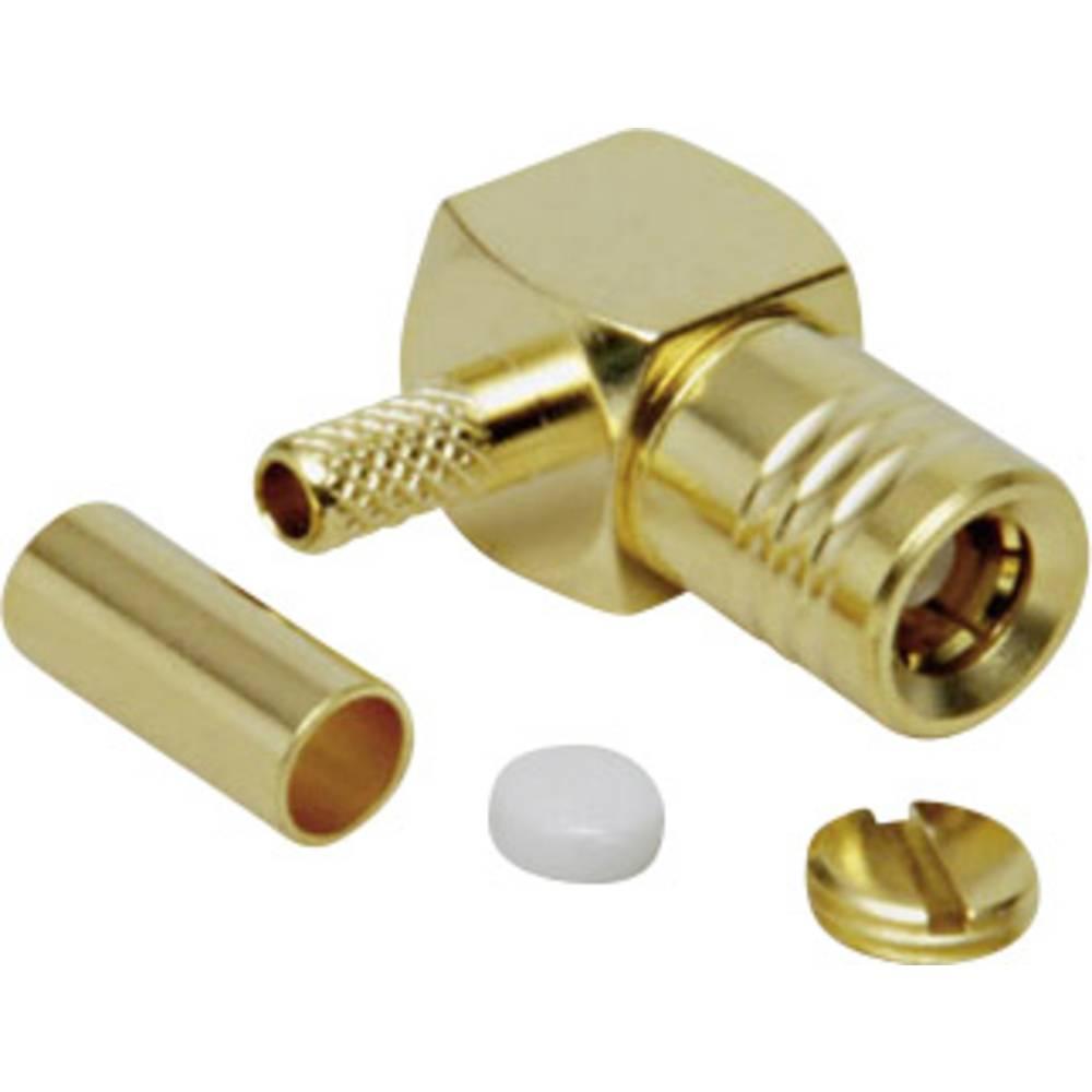 SMB-stikforbindelse BKL Electronic 0411012 50 Ohm Tilslutning, vinklet 1 stk
